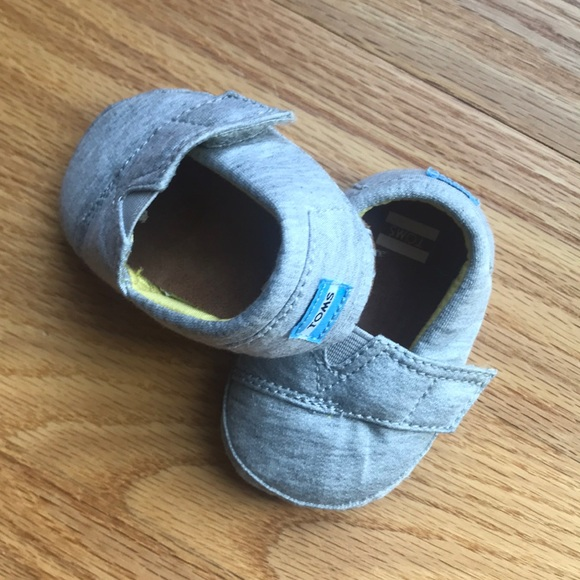 Toms Other - Infant Toms crib shoes!